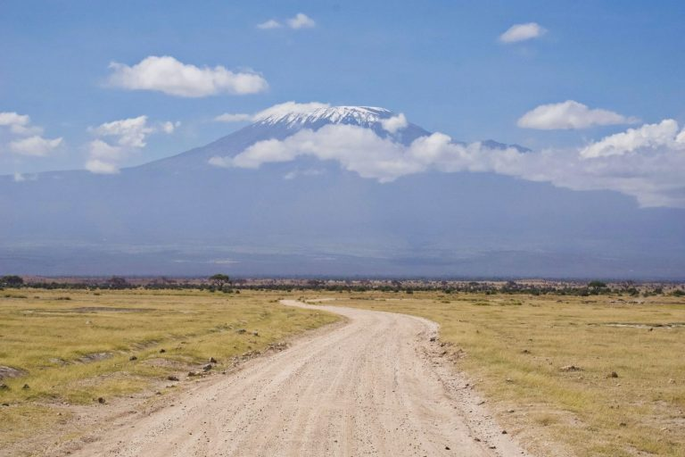 7 Days Kenya Safari Lake Nakuru, Masai Mara, Naivasha and Amboseli National Park Vacation East Africa Limited Kilimanjaro Backdrop from inside Amboseli national Park